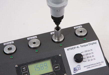 Multi-Transducer Tester with Built-In Display