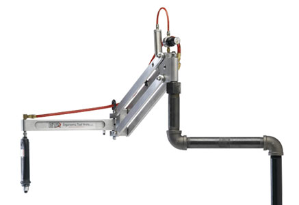 Overhead Positioning Tool Arm for Pneumatic Tool
