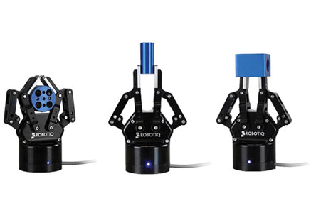 Robotiq 2F-85 and 2F-140 Grippers for Robotic Fabrication